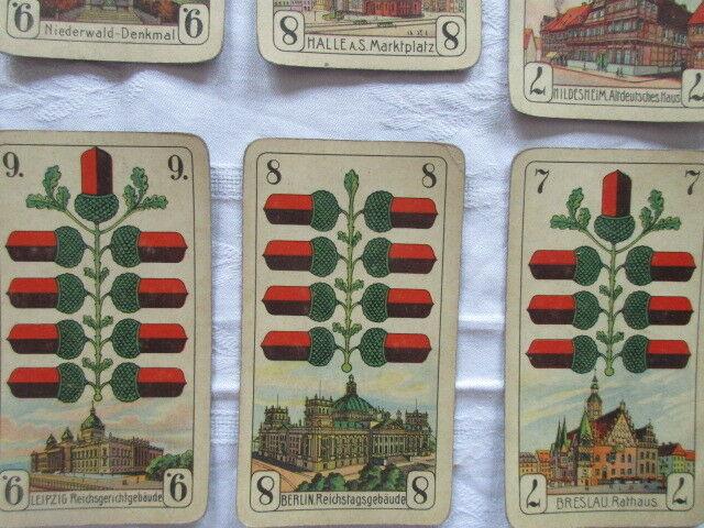 Alte Skatkarten