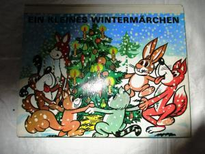 Ein kleines Wintermärchen Z. Brodova Panorama Verlag 1980 Kulissenbuch Pop UP