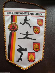 DDR Wimpel Neubrandenburg DTSB