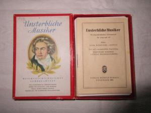 Altes Quartett Unsterbliche Musiker Rudolf Forkel Pössneck 1954