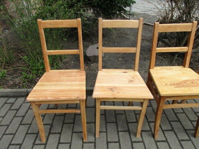 4 alte Stühle Jugendstil um 1900 Holz  Nr. 3 2