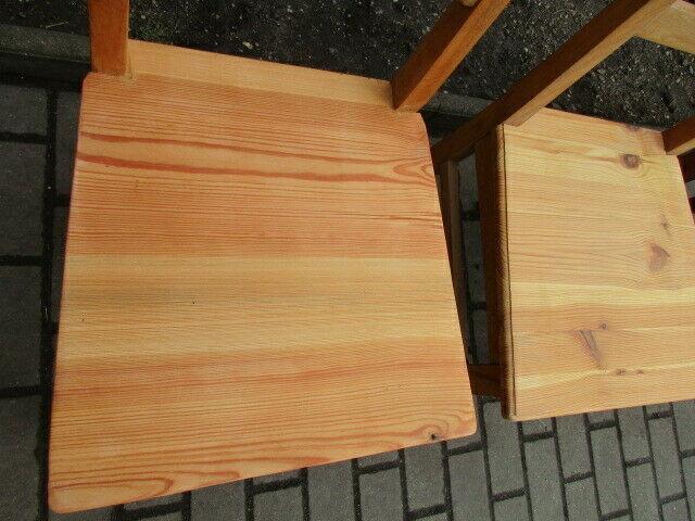 4 alte Stühle Jugendstil um 1900 Holz  Nr. 3 7