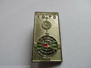 DDR Abz.  1970  IOF    DWBV   DDR