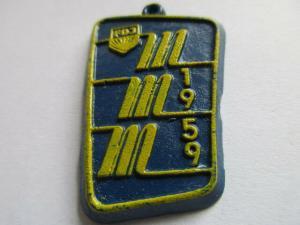 DDR Abzeichen FDJ   MMM 1959  Plaste