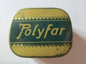 Seltene alte Grammophon Nadeln Polyfar Original Dose