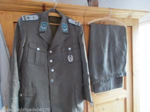 NVA 1953-60  Luftstreitkräfteuniform alles gestickte Effekten 100% orginal