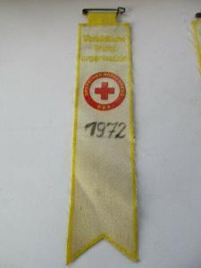 DDR Abzeichen Ehrentitel Vorbildliche Grundorganisation DRK 1972