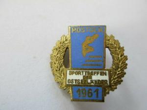 DDR Abzeichen Rostock Sporttreffen der Ostseeländer 1961