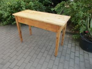Alter Tisch Esstisch Jugendstil Weichholz um 1900  Nr.6