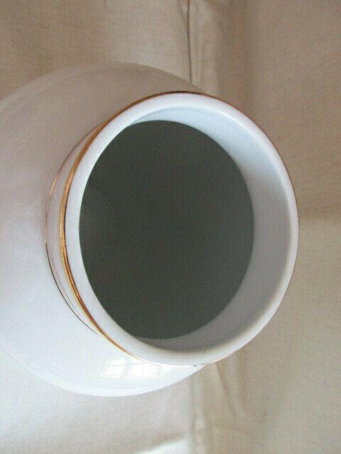 Freiberger Porzellan wunderschöne Deckelvase Vase grüner Drachen Ming 4