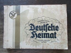 Sammelbilderalbum Deutsche Heimat Yramos Dresden