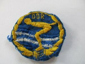DDR Abzeichen Deutscher Schwimmsportverband der DDR Schwimabzeichen Stoff St.3
