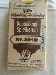 ASS Altenburger Doppelkopf Spielkarten 2 x 24 Blatt Nr. 301 D