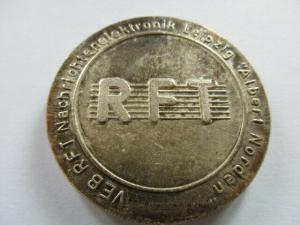 Leipzig VEB RFT Nachrichtenelektronik Albert Norden Neurerbewegung  1948-1988