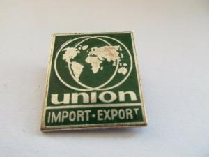 DDR Abzeichen UNION IMPORT-EXPORT