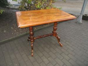Alter Tisch Gründerzeit Nussbaum um 1890