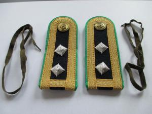 NVA - 1 paar Schulterstücke Grenzbrigade Küste  Obermeister