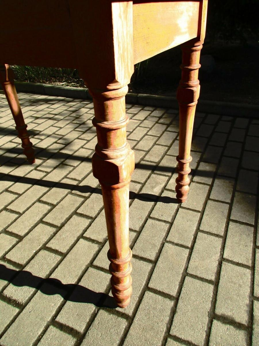 Tisch Esstisch Jugendstil um 1900 Weichholz Nr.17 1