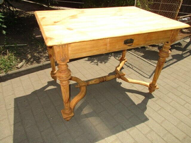 Tisch Esstisch Gründerzeit um 1890 Weichholz  Nr. 1