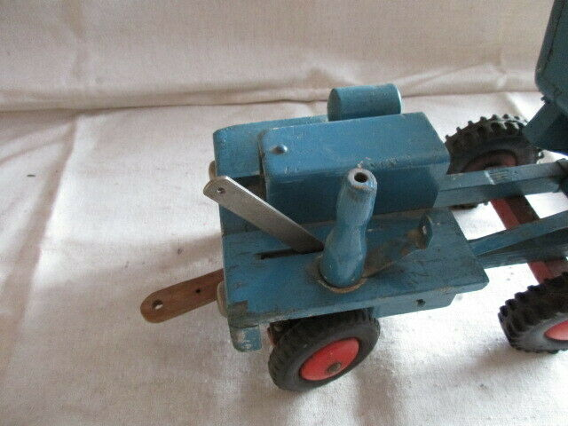 Dumper Holzauto der Firma ROFU  Magdeburg 6