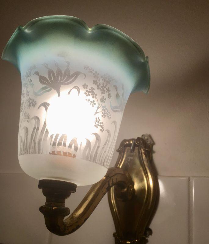 Jugendstil Wandlampen