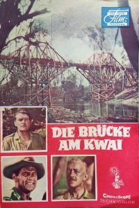 """50er Jahre Filmprogramm """"Die Brücke am Kwai"""""""