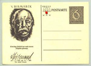 (1009136)  PK Kriegs-Winterhilfswerk 1940 (v. Bismarck) WHW. Unbenutzt.