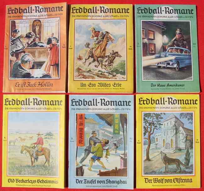(1039286) Erdball-Romane. Sammlung aller erschienenen Hefte Nr. 1 bis Nr. 1000. Verlag Fritz Mardicke, Hamburg  /  Wolfgang Marken