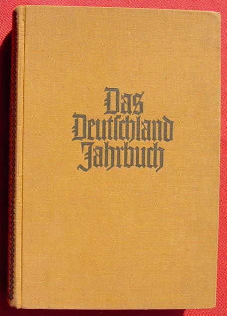 (2001561) Deutschland Jahrbuch, 366 S., Verlag Koehler, Leipzig, um 1934-35. Siehe bitte Beschreibung u. Bilder ...