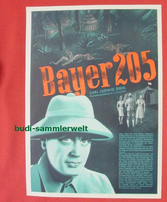 (2001694) Original Filmplakat \'Bayer 205\'. Ufa-Film 1939-1940, aus Ufa-Programm-Mappe, Scherl-Verlag, Berlin. Siehe bitte Beschreibung ...