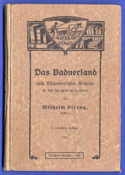 Baden Schwarzwald Geografie Heimat Geschichte Volkskunde altes Schulbuch 1910