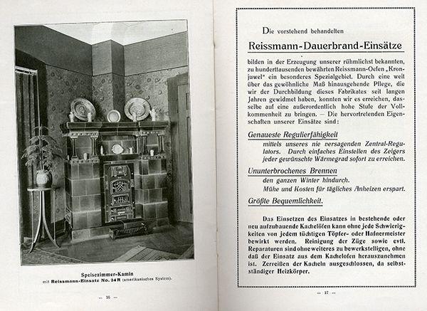 bayern nürnberg reissmann wohnzimmer kachelofen katalog reklame, Hause deko