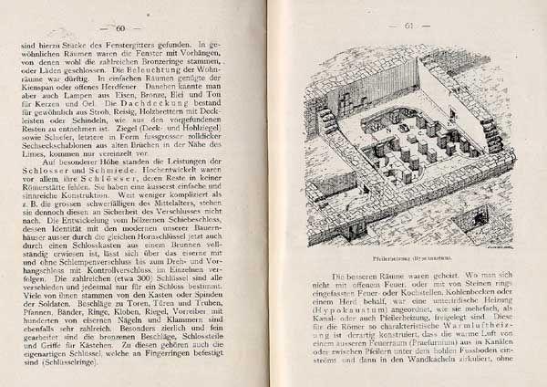 Fußboden Bad Homburg ~ Hessen taunus bad homburg römer limes kastell saalburg geschichte