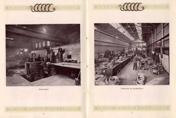 England Birmingham Elektro Draht Fabrik Export Katalog Preisliste um ...