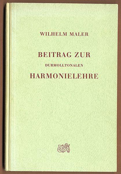 Musik Theorie Melodie Komposition und Harmonielehre seltenes Fachbuch 1957
