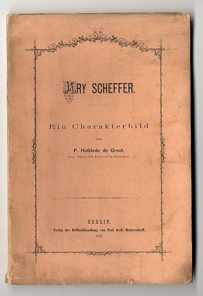 Kunst Geschichte Malerei Frankreich Holland Ary Scheffer Biografie 1870