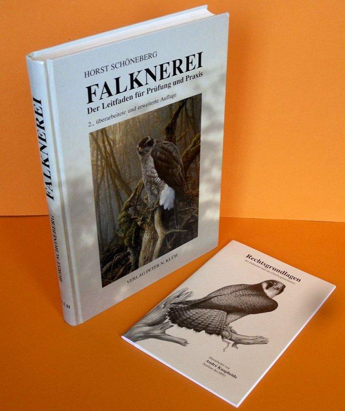 Jagd Falken Beize Greifvogel Falknerei Abrichtung Prüfung Praxis Lehrbuch 2004