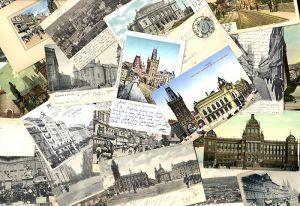 Tschechien Böhmen Sudeten Prag sehr schöne Sammlung 50 alte Postkarten um 1900