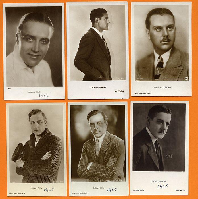 England Amerika Kino Hollywood Filmschauspieler 12 Foto Postkarten 1930