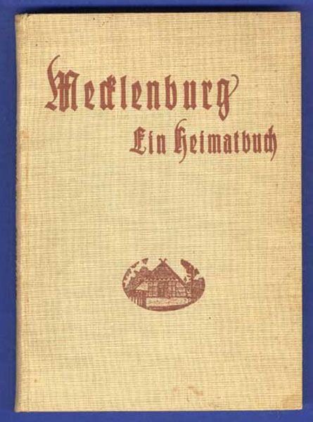Mecklenburg Ostsee Pommern Heimat Geschichte Volkskunde Buch 1925