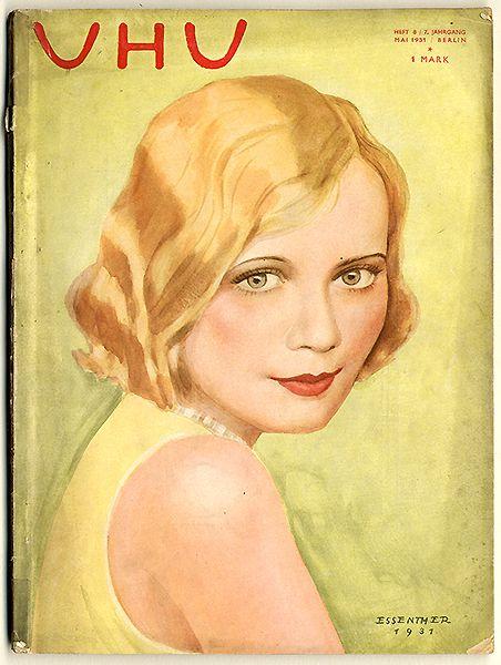 Frauen Mode Erotik Berlin Foujita in Paris UHU Magazin Januar 1930