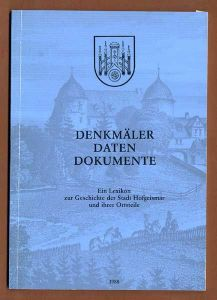 Hessen Kreis Hofgeismar Stadt Geschichte Architektur Bauten Denkmäler 1988