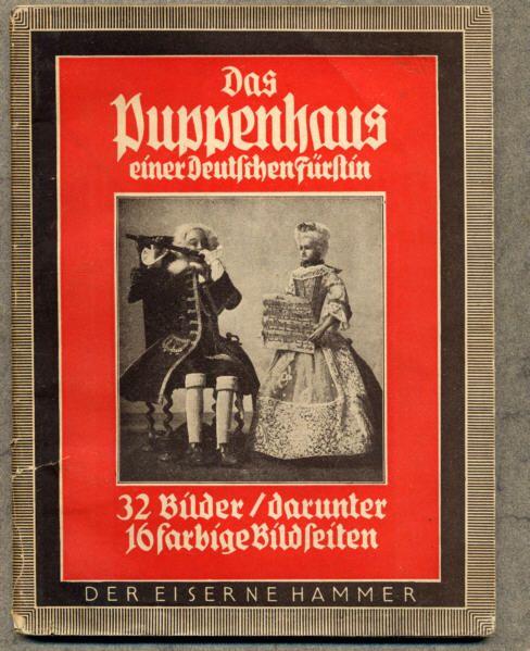 Thüringen Adel Spielzeug Puppenstube Fürstin von Schwarzburg Arnstadt 1941