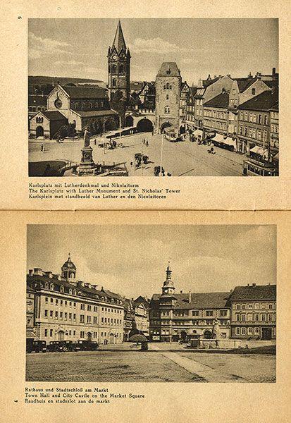 Thüringen Eisenach Wartburg Deutschland Bildheft 1930 2