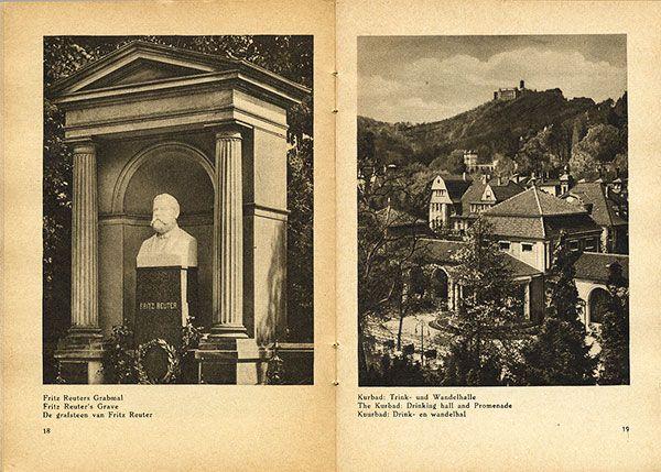 Thüringen Eisenach Wartburg Deutschland Bildheft 1930 3