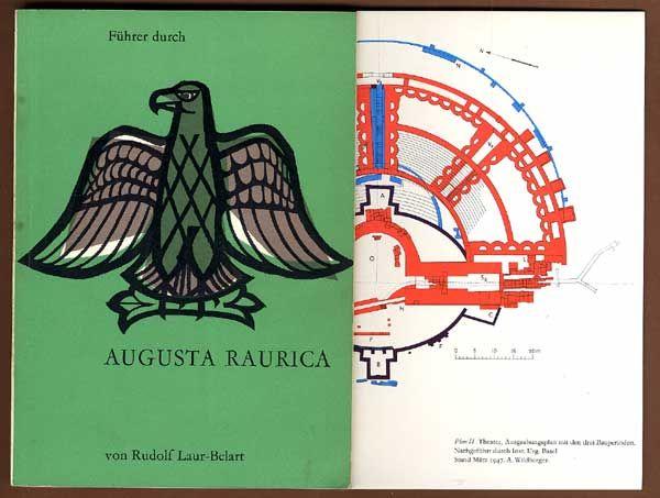 Schweiz Basel Antike Siedlung Augusta Raurica Buch 1959