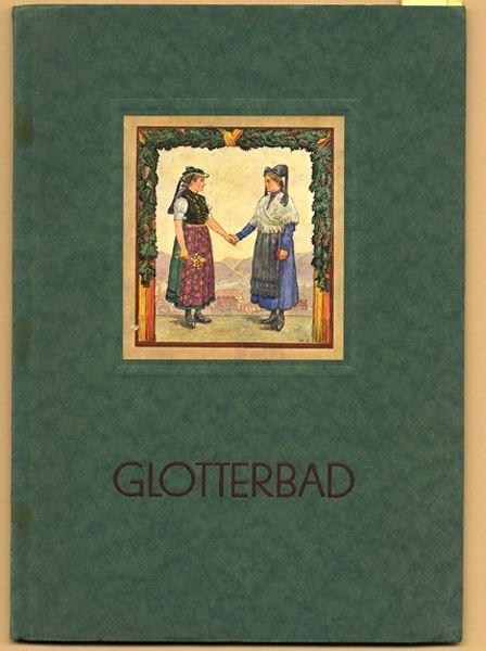 Baden Schwarzwald Freiburg Kurort Glotterbad Reiseführer Kunst Grafik Buch 1927