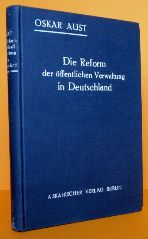 Deutschland Reform der Öffentlichen Verwaltung Reichsermächtigungsgesetz 1928