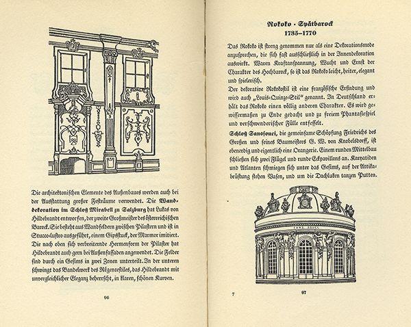 Deutschland architektur kunst gotik barock geschichte baustil fibel 1939 nr 382633007114 - Deutsche architektur ...