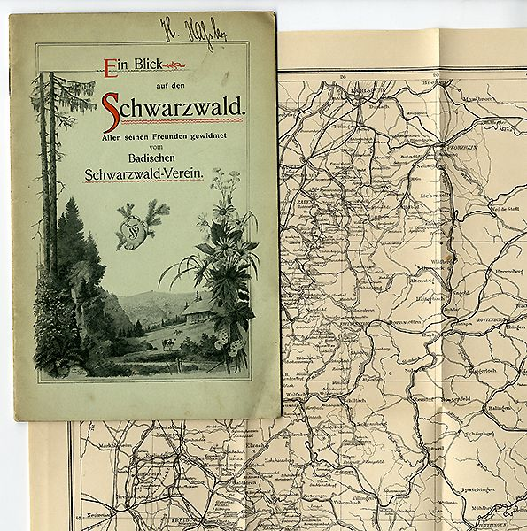 Baden Schwarzwald Breisgau Landschaft Geschichte Geografie Volkskunde 1899